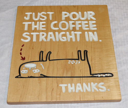 Pour Coffee - Hudson Woodworking