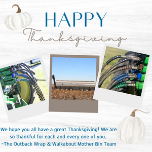 Outback Wrap Hydraulic Hose Markers Thanksgiving