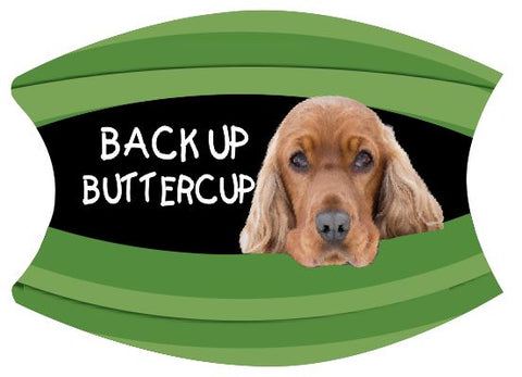 Mask Back Up Buttercup Cocker Spaniel Includes Shipping