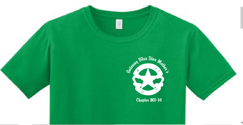 Gateway Blue Star Mothers St Patrick's Day Tee