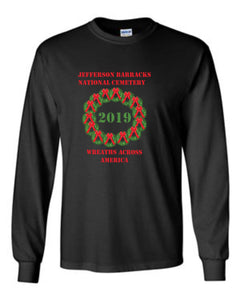 JEFFERSON BARRACKS WREATHS ACROSS AMERICA LONG SLEEVE SHIRT