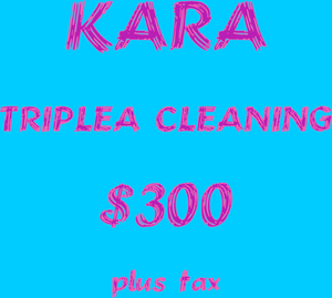 KARA TRIPLEA CLEANING