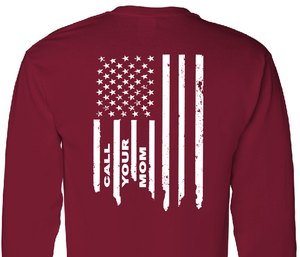 R.E.D. Friday Remember Everyone Deployed.. Call Your Mom Long Sleeve