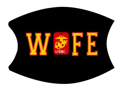 Mask Wife USMC includes shipping