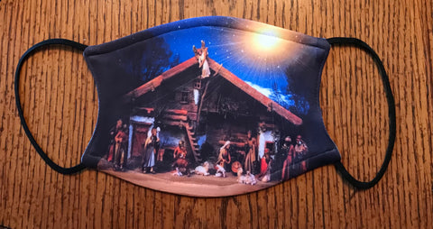 Mask Nativity Scene  Includes shipping