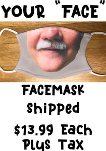Your Face Mask with Shipping