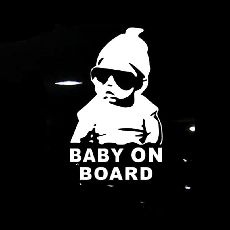 Baby On Board Car Stickers