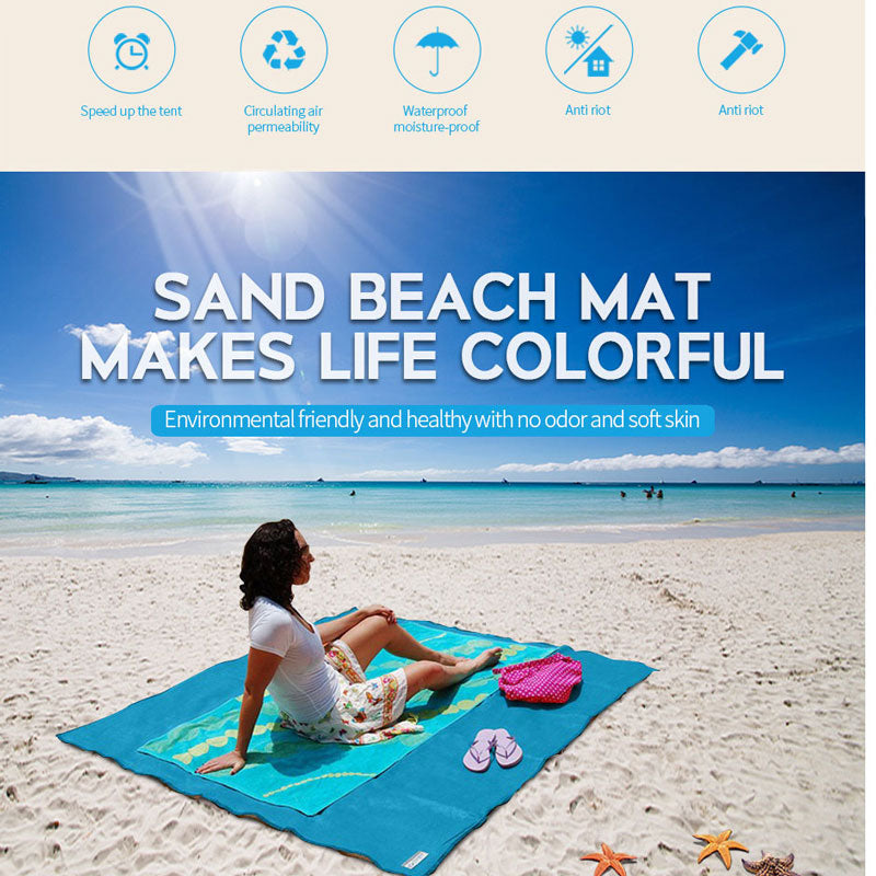 Sand Absorbing Beach Mat