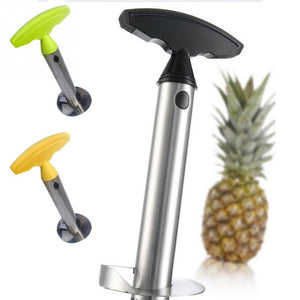 Stainless Steel, Easy to use Pineapple Peeler