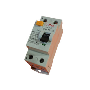RCD - Type A - 2 Pole - 2 Module
