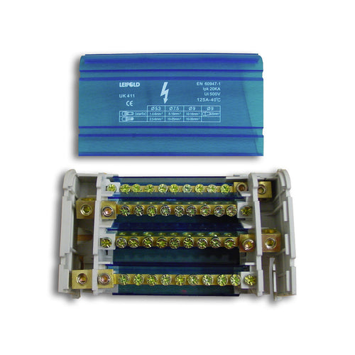Distribution Terminal Block - 2 & 4 Pole