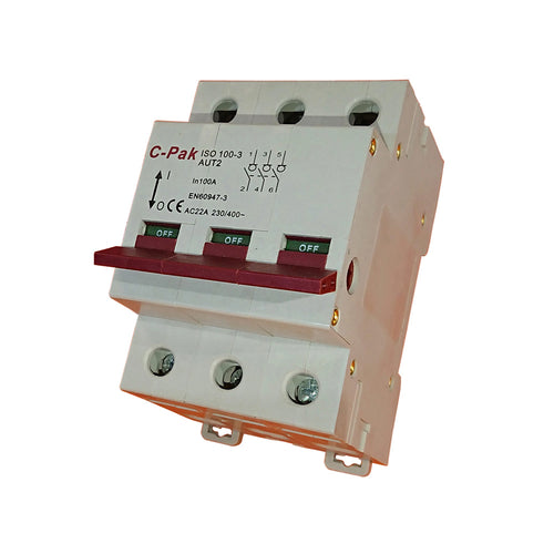 Isolator - 63-125 3 Pole