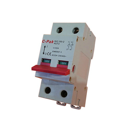 Isolator - 63-125 2 Pole