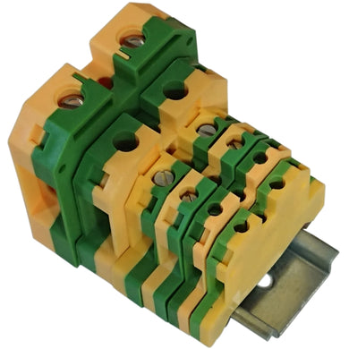 Din rail mounting - Earth Terminal