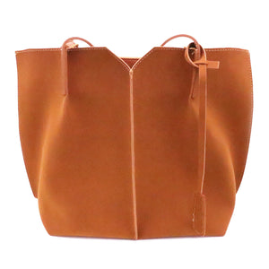 Vegan Suede Tote - Chapter