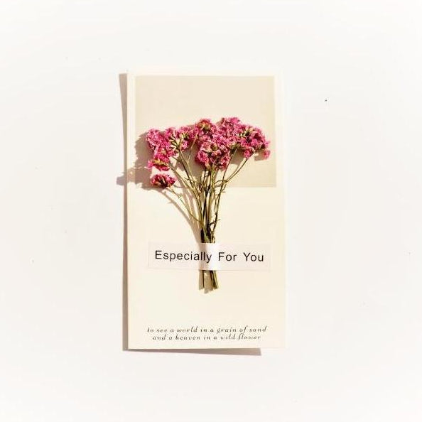 Dried Flower Card - Chapter