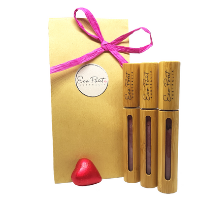 3 Pout Pack - Eco Pout Lip Sheen Pack (Gloss)