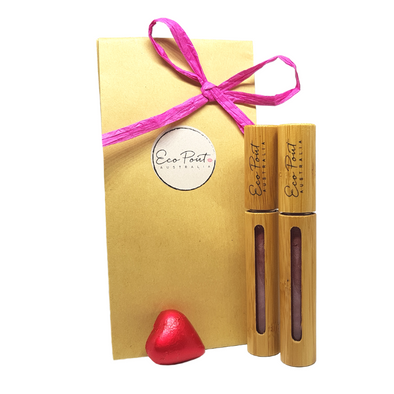 2 Pout Pack - Eco Pout Lip Sheen Pack (Gloss)