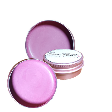 Eco Pout Cream Blush Pot -  Macaron Mousse | Frosted Pink