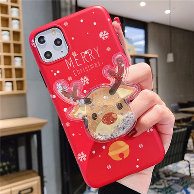 owlcase Cute Cartoon Christmas Deer & Bear iphone cases