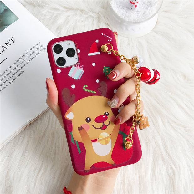 owlcase Christmas Cartoon Deer iphone cases