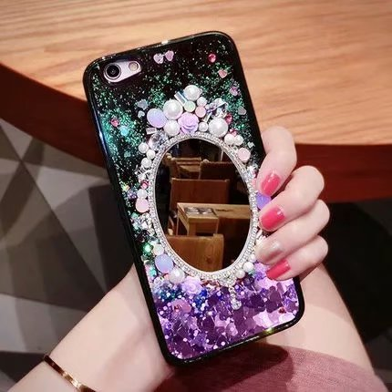 Owlcase Bling Sequins quicksand iphone case