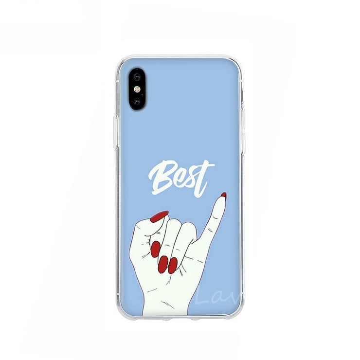 Buy 2 Get 10% OFF- Best Friends Friendship iPhone Cases