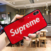 Luxury Supreme Pattern iPhone Cases