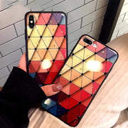 Geometric Patterned iPhone Cases