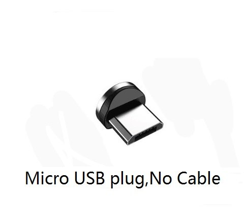 Magnetic Charging Cable 90 Degree Angle Magnet Connector Micro USB