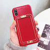 Luxury Fashion Leather Stand Holder iPhone Case