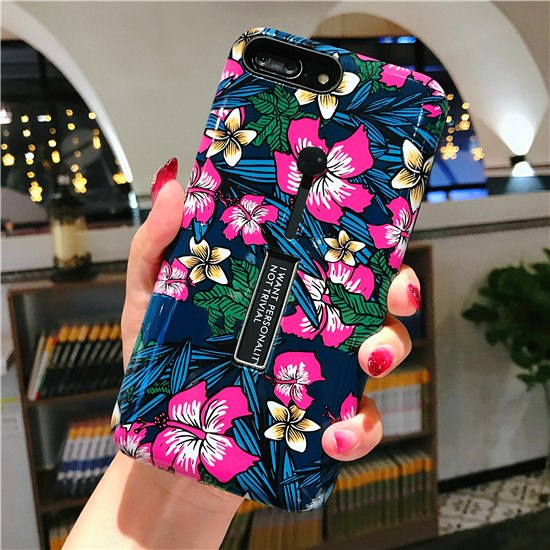 Retro Classical Plants Flowers iPhone Cases