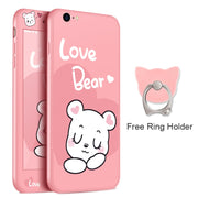 360 Full Cover Cartoon Cases