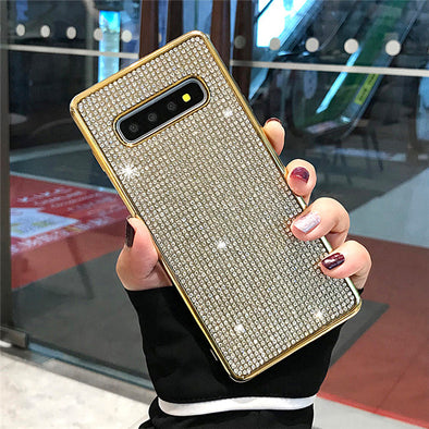 owlcase Glitter Bling Pure Color Samsung Cases