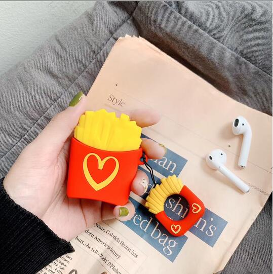 OWLCASE Popcorn Silicone AirPods Case