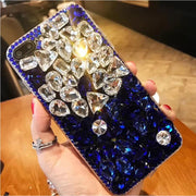 3D Luxury Crystal Rhinestone Bling iPhone Case