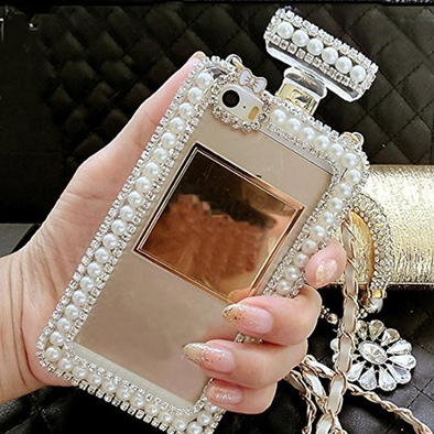 Diamond Pearl Perfume Bottle iPhone Cases