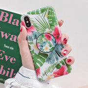 owlcase Tropical Flowers Leaves iPhone Cases