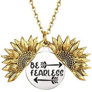 Be Fearless in the Pursuit of...Necklace - Arrows