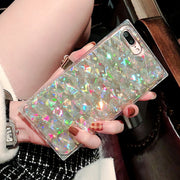 owlcase Candy Color Glitter Light iPhone Cases