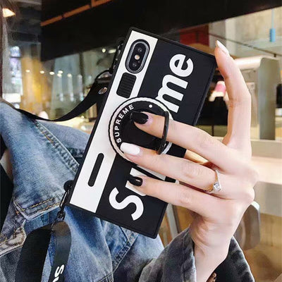 Hide Ring Camera Silicone iPhone Cases