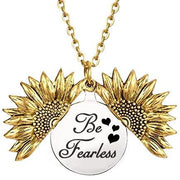 Be Fearless in the Pursuit of...Necklace - Heart