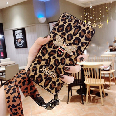 Owlcase Fashion Leopard Messenger iPhone Cases