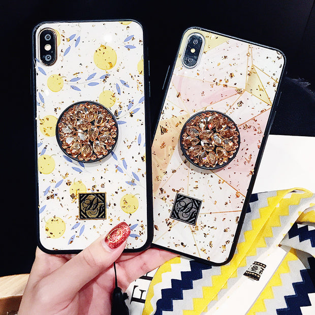 Luxury Bling Geometric iPhone Cases