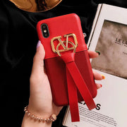 owlcase Fashion Metal Streamer iPhone Cases