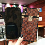 Gnucci Embossed Leather Pattern Catwalk iPhone Cases