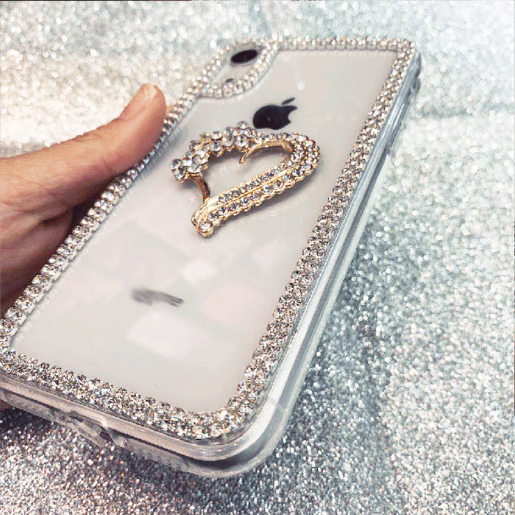 Luxury Bling Dimaond Transparent Case