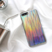 Steamer Glitter Laser Rainbow Shiny Case