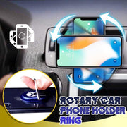 Rotary Car Phone Holder Ring