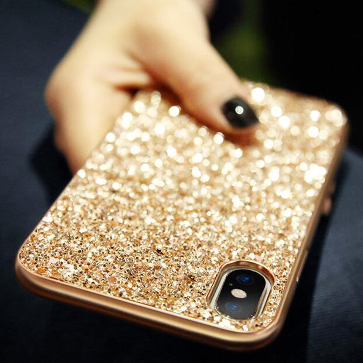 Bling Glitter Sequin Plating iPhone Case